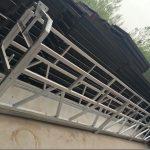 zlp630 / 800 ll סגסוגת אלומיניום צורה, בניית פלדה מושעה עבודה פלטפורמה להרים על חלונות הבניין