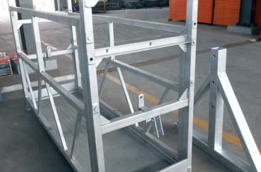 חבל בטיחות גבוה מושעה פלטפורמות מעליות התקנת פלטפורמת zlp630 zlp1000