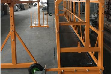 חלון ניקיון מושעה עבודה בטיחות פלטפורמה zlp 630 עם להניף ltd6.3